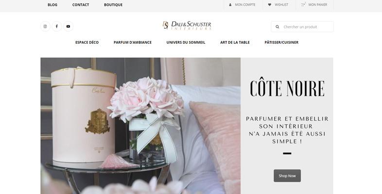 site vente en ligne