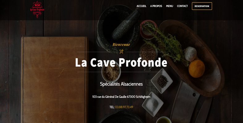 site restaurant strasbourg